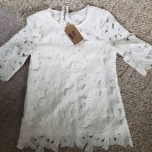 Sx lace shirt